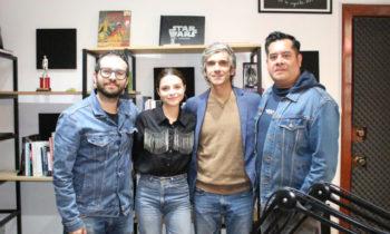 Diablero, la serie de Netflix. Plática con JM Cravioto, Giselle Kuri y Pedro Uriol.