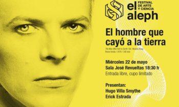 La Filmoteca se suma al Festival de Arte y Ciencia El Aleph.