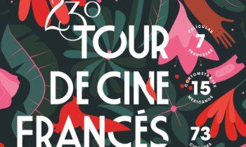 El póster del 23 Tour de Cine Francés.