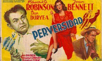 Perversidad (Fritz Lang). Vean aquí la película.