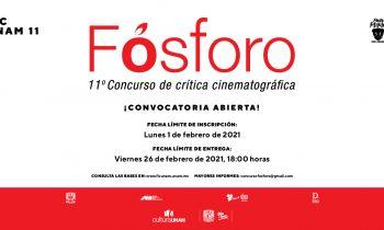 "11 Concurso de Crítica Cinematográfica Alfonso Reyes ""Fósforo""."