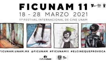 Imagen FICUNAM 11. El festival corre del 18 al 28 de marzo 2021.